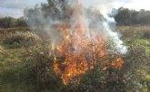 La Comunidad Aut�noma prorroga hasta el pr�ximo 28 de febrero la prohibici�n de quemar podas agr�colas para minimizar el impacto del COVID-19