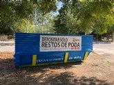 El Ayuntamiento instala contenedores especiales para restos de poda a través de la concejalía de Medio Ambiente