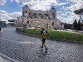 El atleta del CAT Roque G�zquez particip� en la Run Rome The Marathon 2021 de Roma
