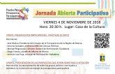 Jornada abierta de presupuestos participativos