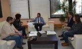 Reunión con el Consejero de Desarrollo Económico, Turismo y Empleo