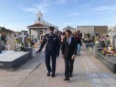 La AGA conmemora el Día de los Caídos por la Patria en el cementerio parroquial de Torre-Pacheco