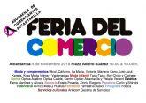 26 comercios de Alcantarilla participarán el próximo domingo en la I Feria de Día del Comercio en nuestro municipio