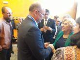 El alcalde de Pliego participó en Madrid en la ceremonia de inicio de la Feria Expotural representando a Sierra Espuña