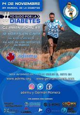 El 14 de noviembre, suda por la diabetes con Germán Romera