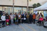 Las asociaciones locales que trabajan con la discapacidad y el Ayuntamiento de San Javier se unieron para celebrar el Día de la Discapacidad