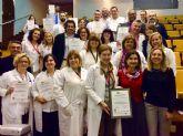 El hospital Rafael Méndez renueva su acreditación como centro comprometido en la excelencia en cuidados