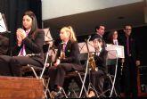 La banda de música de Las Torres de Cotillas homenajeó un año más a su patrona con un gran concierto