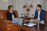 El reelegido Presidente del Cabildo Superior de Cofradías de Archena informa a la Alcaldesa de los nuevos cargos de Semana Santa para 2020