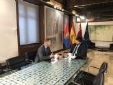El Alcalde de Torre Pacheco se entrevista con el Presidente de la Comunidad Autónoma