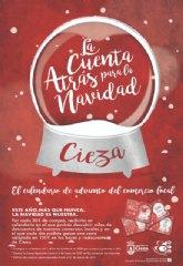 La Concejalía de Comercio Ayuntamiento de Cieza marca la cuenta atrás para la Navidad