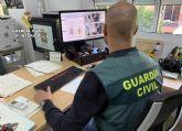 La Guardia Civil detiene al presunto autor de una veintena de robos y hurtos en comercios, viviendas y vehículos