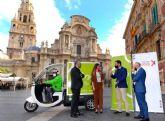 Murcia estrena ´Mioo´, un nuevo servicio de entrega de paquetes a domicilio 100% sostenible