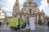 Mioo, el servicio de reparto sostenible de última milla llega a Murcia