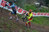Fernando Cabrera, del CC Santa Eulalia, terminó el año disputando un ciclocros en Xátiva