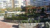 El Ayuntamiento trabaja en la mejora integral del Jardín del Salitre