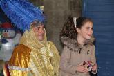Los Pajes Reales recogen las cartas para los Reyes Magos en San Pedro del Pinatar