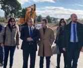 Fomento mejora la seguridad vial de la carretera que une Lorquí con la antigua estación de ferrocarril