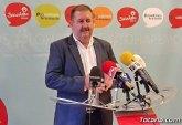 El alcalde manifiesta que el PP ha venido a Totana a engañar a los totaneros y totaneras