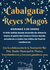Los Reyes Magos repartirán ilusión este domingo por las calles de Puerto Lumbreras