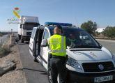 La Guardia Civil intercepta a un camionero que conduc�a bajo los efectos de drogas