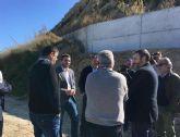 La acequia Mayor de Alguazas vuelve a funcionar tras las obras realizadas por la Comunidad por importe de 48.000 euros