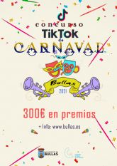 Las concejalías de Juventud y Festejos convocan un concurso de Carnaval  a través de Tik Tok