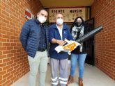 Seis colegios torreños reciben barredoras y sopladoras eléctricas para la limpieza de sus zonas exteriores