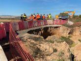 Se inician las obras de mejora de la seguridad vial de la carretera que une Balsicas con Los Alcázares