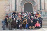 La concejalía de Voluntariado premia a sus voluntarios  con una salida a  Caravaca de la Cruz