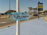 Nuevas señales indican la localización de las playas caninas