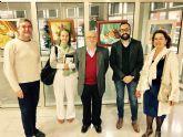 La biblioteca estrena un espacio alternativo  para exposiciones con los bodegones de Esteban Salvador Vicente