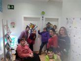 Usuarios del Centro de día José Moyá Trilla visitan el Centro Multidisciplinar Celia Carrión Pérez de Tudela