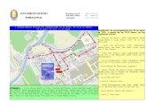 Indicaciones de tráfico con motivo de la I Carrera Marcha Popular - Día Internacional de la Mujer