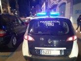 La Polic�a Local detiene, gracias a la colaboraci�n ciudadana, a dos personas por robo con fuerza en una vivienda