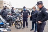 La Policía Local incorpora seis nuevas motos al parque de vehículos