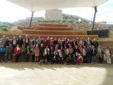 Viaje a Puerto Lumbreras de los usuarios del centro de d�a de personas mayores