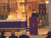 Un pregón de Semana Santa directo al corazón: el pronunciado por el sacerdote torreño Jerónimo Hernández Almela en Molina de Segura.