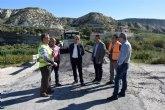 Fomento refuerza el firme de la carretera RM-561 para mejorar el acceso a Los Baños de Mula