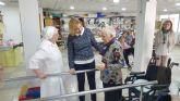 La Comunidad financia este año la atención de personas mayores en Molina de Segura con 1,7 millones