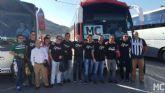 MC colaborará, por tercer año consecutivo, con un autobús para favorecer el desplazamiento de aficionados del Efesé al derbi en Nueva Condomina
