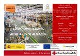 Del 30 de abril al 4 de junio tendrá lugar la formación 'Operaciones Auxiliares de Almacén', en las instalaciones de Santomera, Murcia, con una duración total de 175h