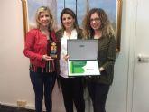 Recepción en el Ayuntamiento de Molina de Segura a la empresa molinense SERCLIMP por su labor de inclusión laboral