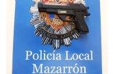 Detenido tras huir de un control de la Polic�a Local y protagonizar una persecuci�n por carreteras y calles de Mazarr�n