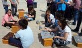 Los colegios torreños sacan las clases de música a la calle