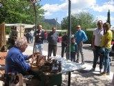 Se celebra el dominical Mercadillo Artesano de La Santa con el que arranca la temporada de primavera