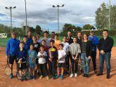 El equipo de la Escuela de Tenis del Polideportivo de San Javier se convierte en el ganador del Circuito regional de Tenis Amateur
