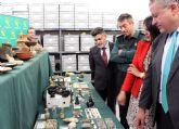 La Guardia Civil recupera cerca de diez mil piezas de valor paleontológico y arqueológico en un domicilio de Murcia