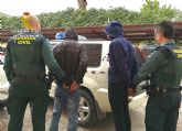 La Guardia Civil detiene a los dos presuntos atracadores de un vecino de Cieza