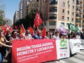 Cambiar la Región de Murcia ve 'más razones que nunca' para la movilización de la clase trabajadora